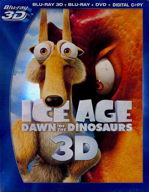 ICE AGE 3:DAWN OF THE DINOSAURS 3D BY ROMANO,RAY (Blu-Ray)