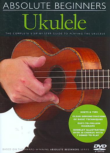 ABSOLUTE BEGINNERS UKULELE BY GOODMAN,HESTER (DVD)